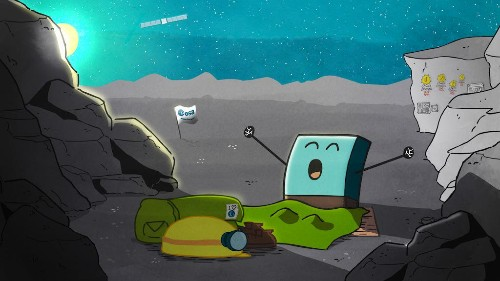 After a 7-Month Sleep, Philae Phones Home