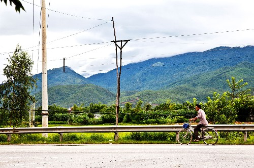 Mountain Bike the Ho Chi Minh Trail in Vietnam