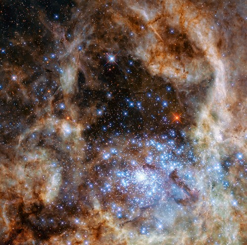 Week's Best Space Pictures: Hubble Reveals Monster Stars