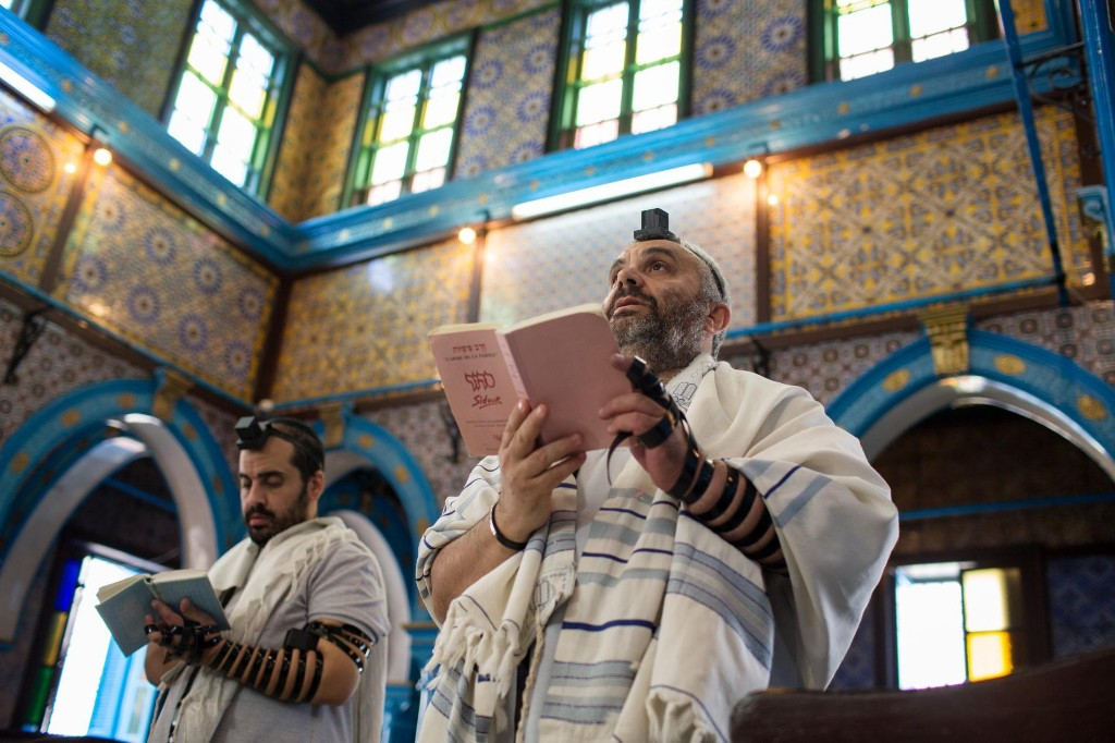 Thousands of Jews make an annual pilgrimage to this Muslim country