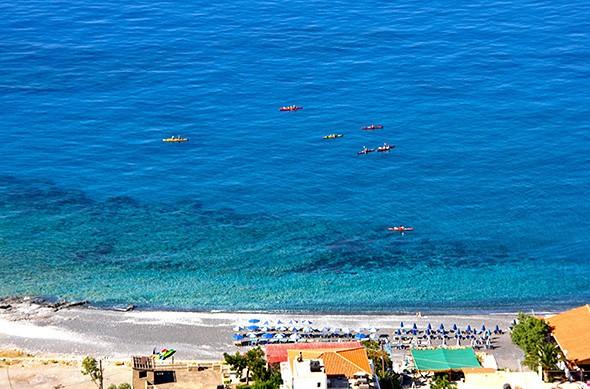 Sea Kayaking the Land of the Gods