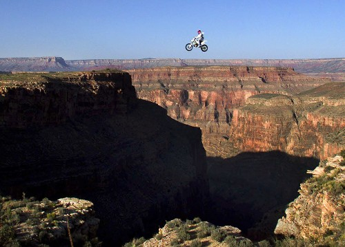 Grand Canyon Stunts Over the Years