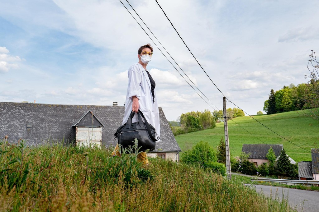 When France locked down, this doctor became a lifeline for her rural community