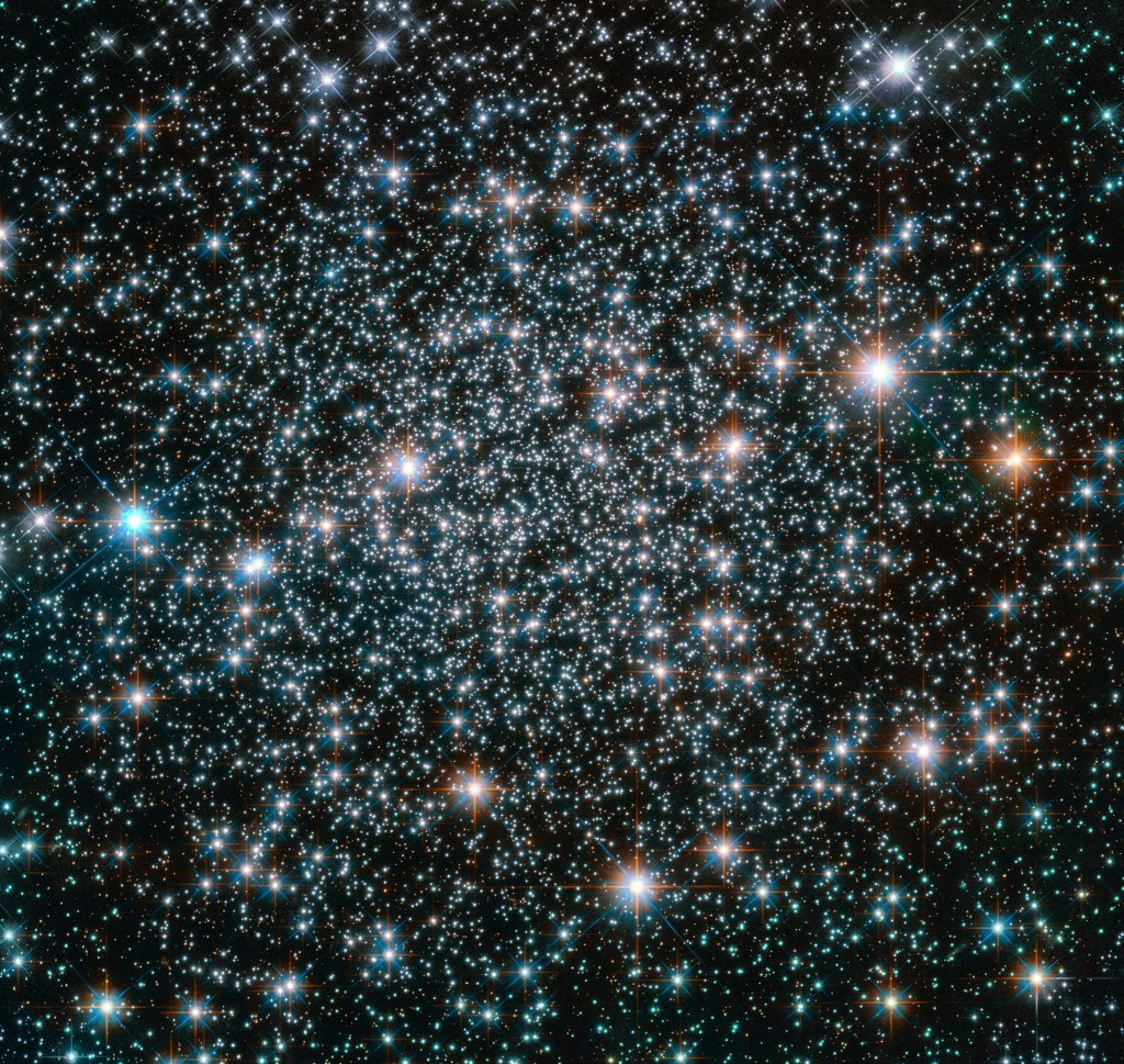 Week's Best Space Pictures: Stars Form a Heavy-Metal Band