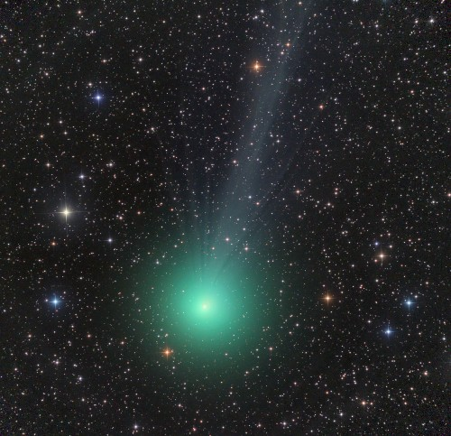 Watch the New Year's Skies for a Green Comet