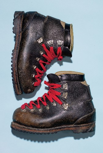 These boots took the first American to Everest's summit