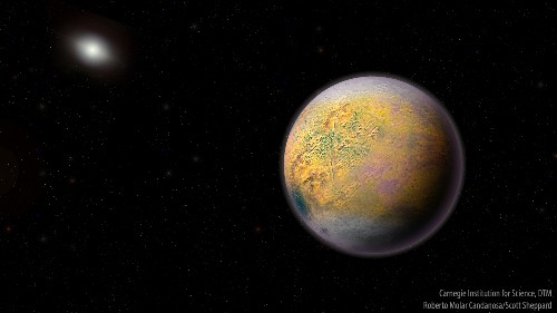 New object beyond Pluto hints at mysterious 'Planet X'