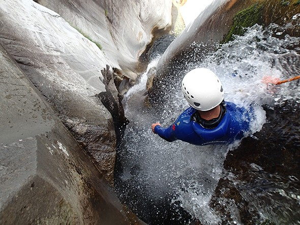 Learning the Ropes in Switzerland's Canyoning Paradise
