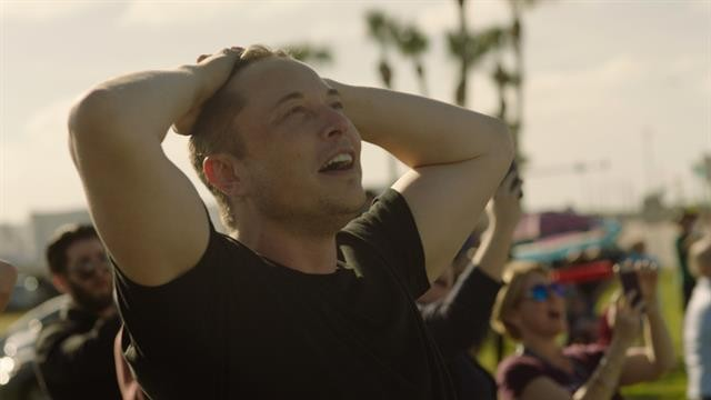 Exclusive: Watch Elon Musk Freak Out Over the Falcon Heavy Launch