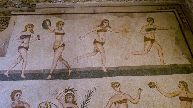 See Some of the Best Ancient Roman Tile Work in the World