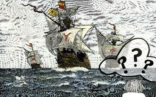 How Columbus Said Hello: He Tried Dancing