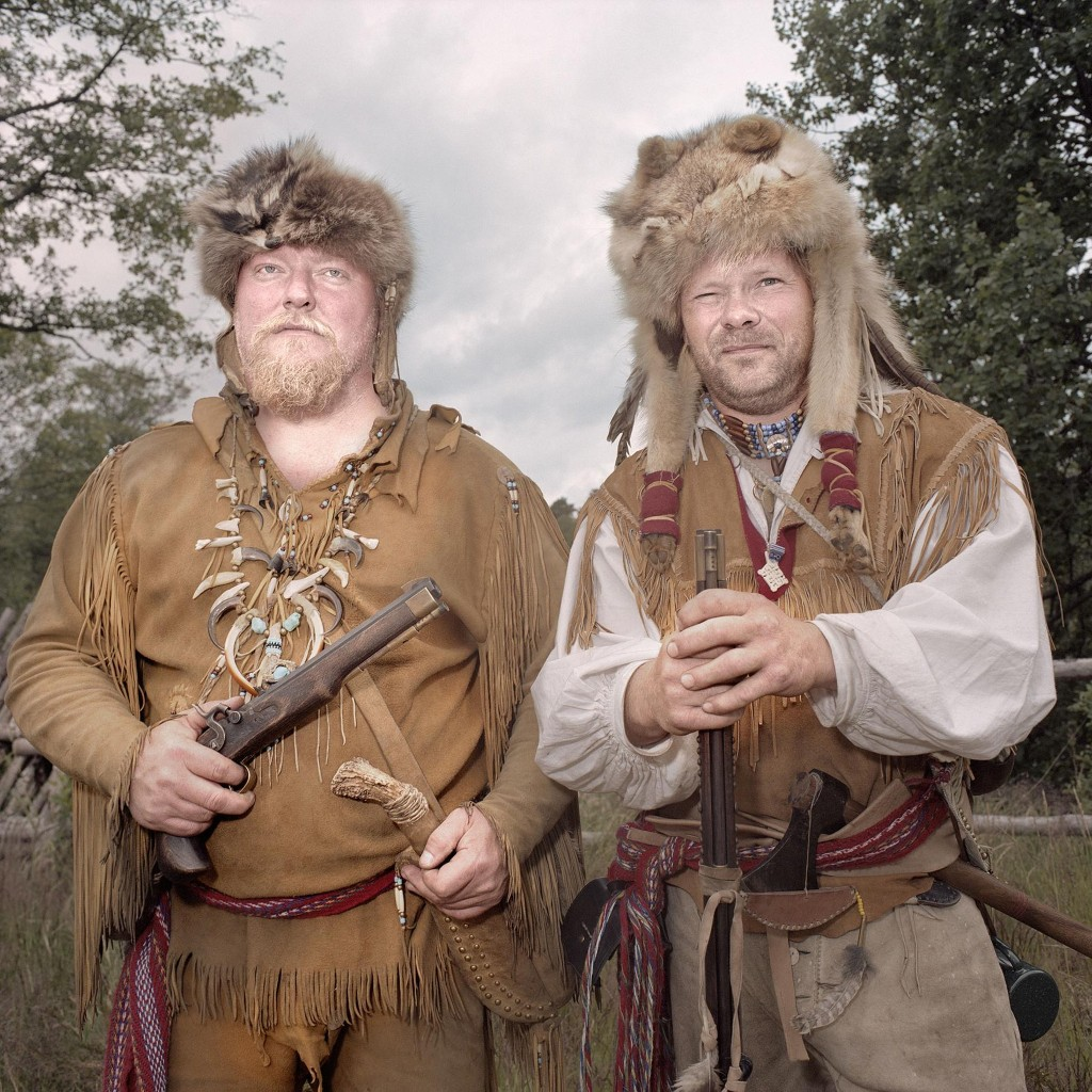 Cowboys in Sweden? Quirky photos of U.S. culture in Europe