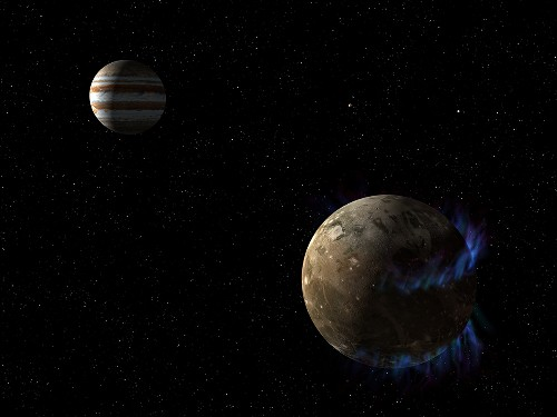 Auroras Reveal Buried Ocean on Jupiter's Moon Ganymede