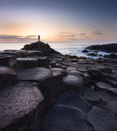 Sunset at Giants Causeway Photo by neil tapman — National Geographic Your Shot