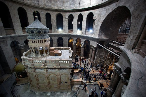 Tomb of Christ at Risk of 'Catastrophic' Collapse