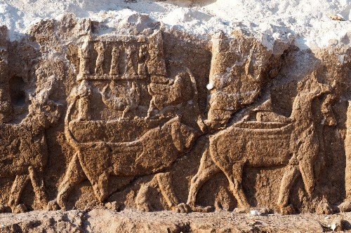 'Extremely rare' Assyrian carvings discovered in Iraq