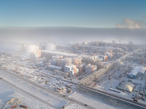 See Russia's massive new gas plant on the Arctic coast