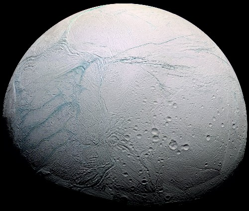Vast Ocean Underlies Ice on Saturn's Moon Enceladus