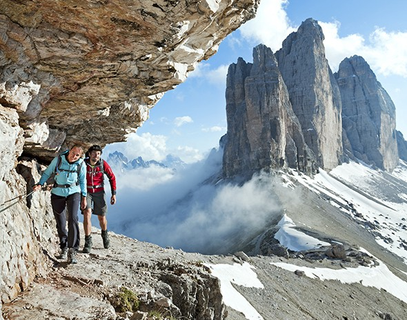 Hiking and History in Italy's Dolomites