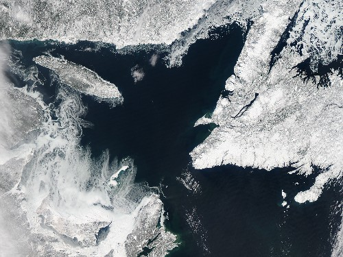 Is Shrinking Sea Ice Behind Chilly Spring?