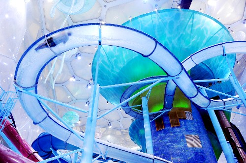 The Physics Behind Waterslides