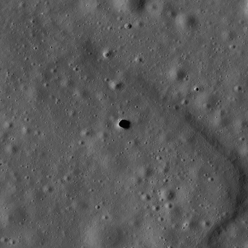 Scientists May Have Spotted Buried Lava Tubes on the Moon