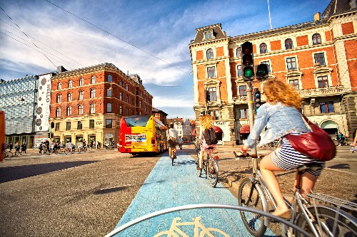 Top 10 cities for cycling