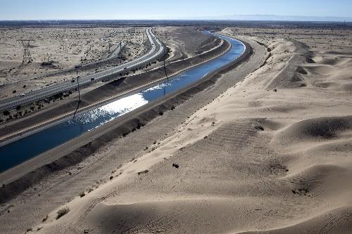 Exporting the Colorado River to Asia, Through Hay