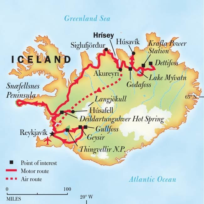 Iceland: Volcanoes, Glaciers, and Whales