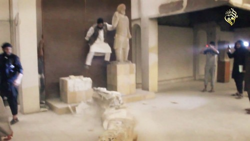 ISIS Smashes Priceless, Ancient Statues in Iraq