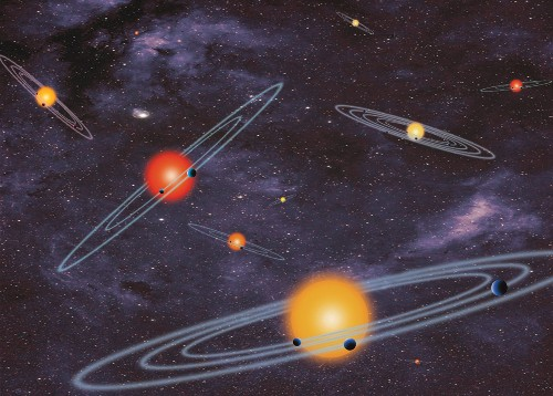 """""""Motherlode"""" of Alien Worlds Unveiled by Space Telescope"""