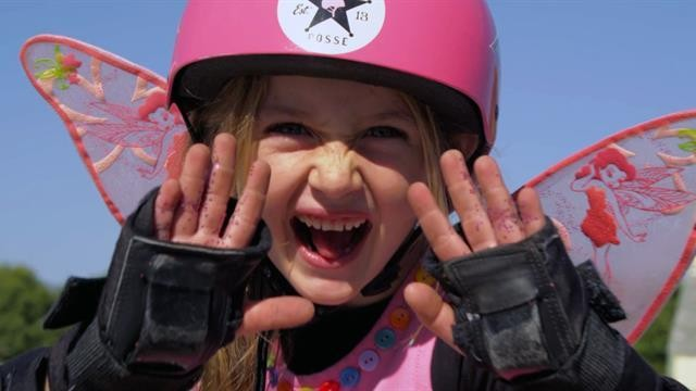 Gnarly in Pink: These Skateboarding Girls Shred With the Boys