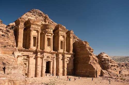 Magnificent Ancient Buildings Hewn From Living Rock