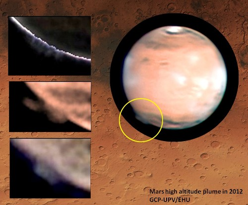 Bizarre Martian Plumes Discovered by Amateur Astronomers