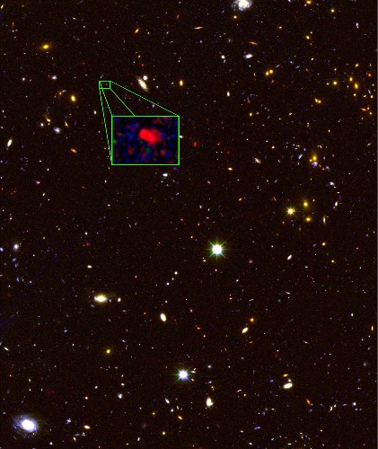 Astronomers Discover the Most Distant Galaxy Yet