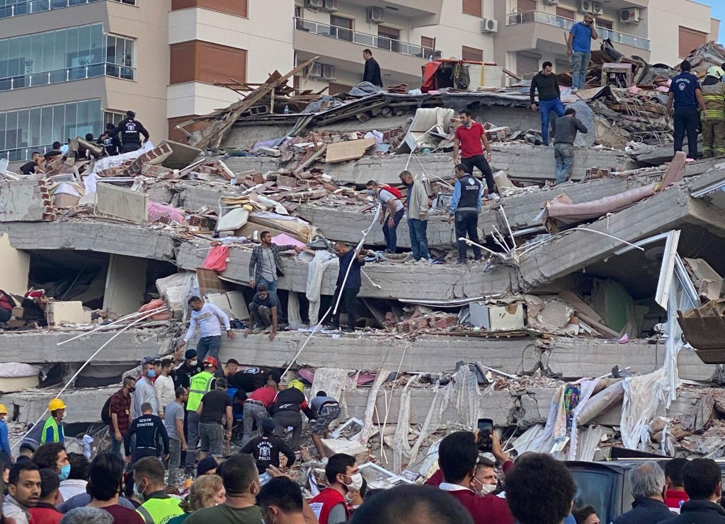 Greece and Turkey earthquake driven by wild tectonics of the Aegean Sea