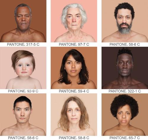 An Artist Finds True Skin Colors in a Diverse Palette