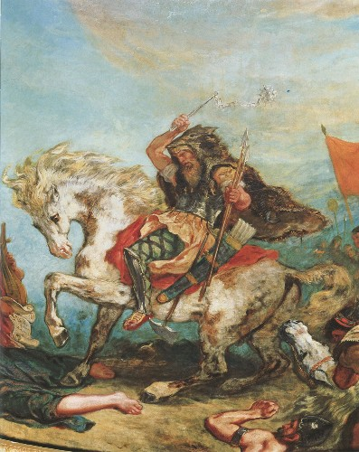 Who were the ruthless warriors behind Attila the Hun?