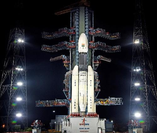 India's first lunar lander falls silent just before touchdown