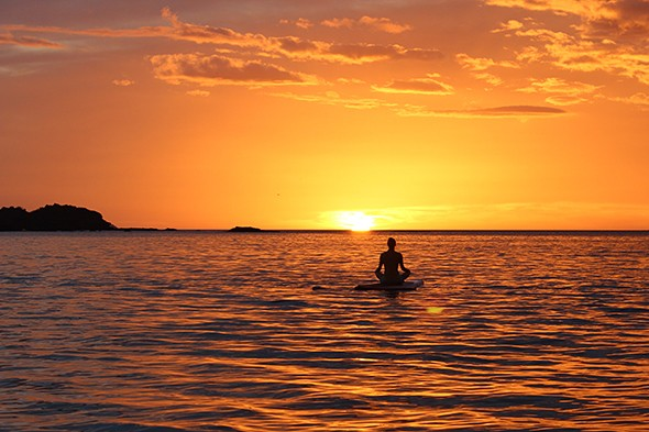 Pioneering Stand-Up Paddleboarding Yoga in Costa Rica