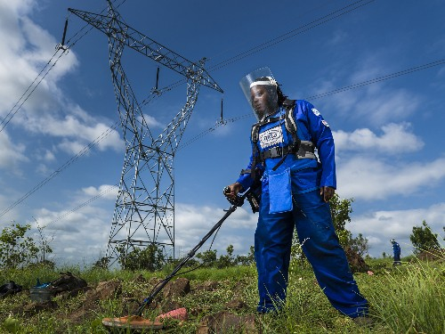 Clearing Land Mines Becomes Women's Work in Mozambique and Beyond