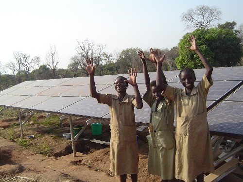 Why You Don't Need Fossil Fuel to Fight Poverty. (Clean Energy Does it Better.)