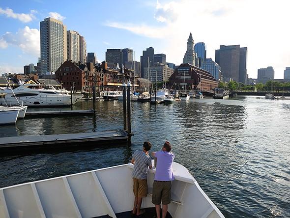 Island Hopping in Boston Harbor