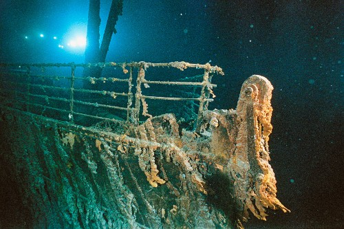 How the Titanic was lost and found