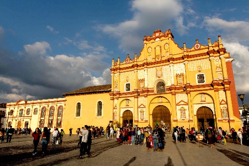 Visiting Mexico's Maya in a Chiapas Cave of Curses