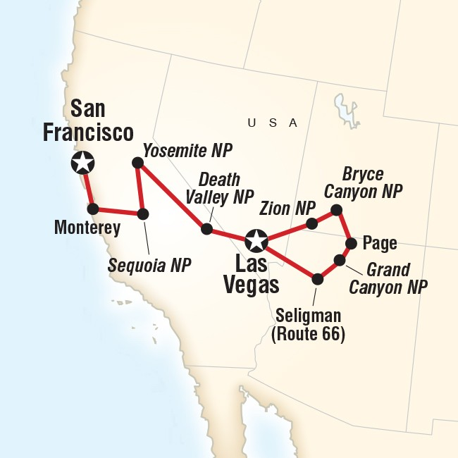 Western America Tours: National Parks Vacation