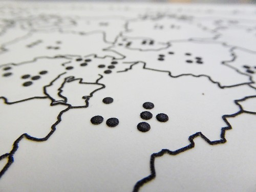 A Tactile Atlas Helps the Blind 'See' Maps