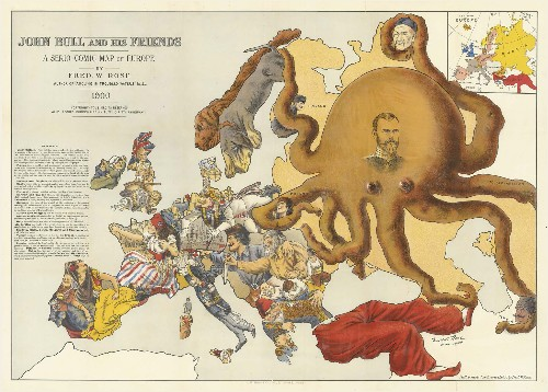 These Colorful Propaganda Maps Fueled 20th-Century Wars