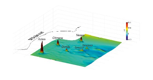 Six underwater volcanoes found hiding in plain sight