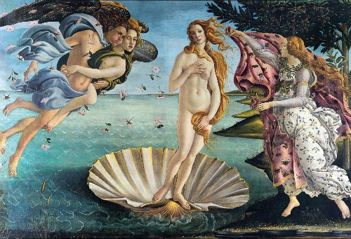 The painter behind 'Birth of Venus' invented a new kind of art